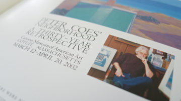 Peter Coes retrospective catalog